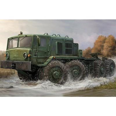 Maquette Camion soviétique MAZ-537: Fin de production - Trumpeter-TR01006