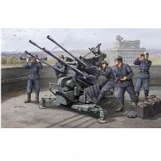 Maquette Canon anti-aérien allemand: FlaK 38 2.0 cm