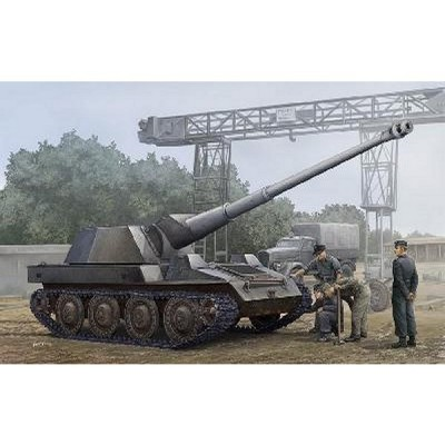 Maquette Char: Canon anti char automoteur allemand Krupp Steyr Waffentrager 1945 - Trumpeter-TR01598