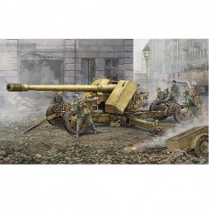 Maquette Canon anti-char super lourd allemand Krupp Pak44