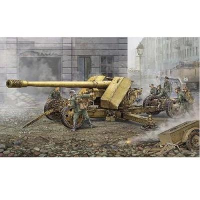 Maquette Canon anti-char super lourd allemand Krupp Pak44 - Trumpeter-TR02317