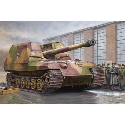 Maquette Char: Canon automoteur allemand Tiger Für 17 cm K72 - Trumpeter-TR00378