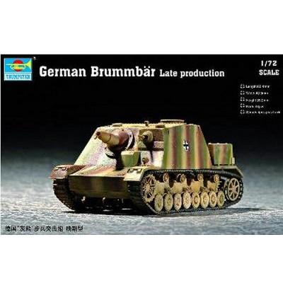 Maquette Char: Canon d'assaut allemand Brummbar: Fin de production - Trumpeter-TR07212