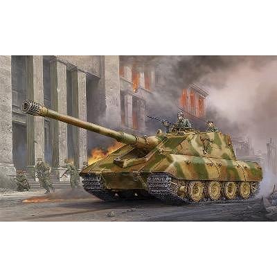 Maquette Char: Canon d'assaut allemand StuG E-100 1945 - Trumpeter-TR01596
