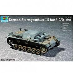 Maquette Char: Canon d'assaut Sturmgeschutz III Ausf C/D 1941