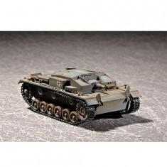 Maquette Char: Canon d'assaut Sturmgeschutz III Ausf E