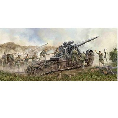 Maquette Canon de campagne lourd allemand Kanone 18 - Trumpeter-TR02313