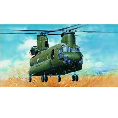 Maquette hélicoptère : CH-47D Chinook US Army 1970 - Trumpeter-TR05105