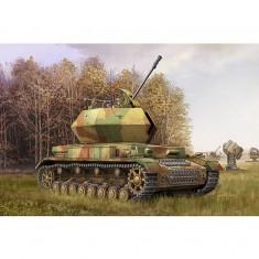 Maquette Char allemand 3.7cm FlaK 43 FlakPanzer IV Ostwind 1945