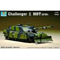 Maquette Char britannique Challenger MBT Kfor