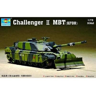 Maquette Char britannique Challenger MBT Kfor - Trumpeter-TR07216