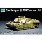Maquette Char: Challenger II MBT Guerre en Irak