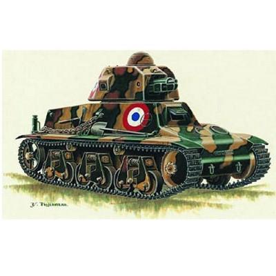 Maquette Char léger Hotchkiss H39: 1940 France - Trumpeter-TR00351