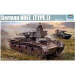 Maquette Char lourd allemand NBFZ (Type 1) 1939