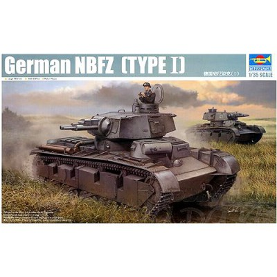 Maquette Char lourd allemand NBFZ (Type 1) 1939 - Trumpeter-TR05527