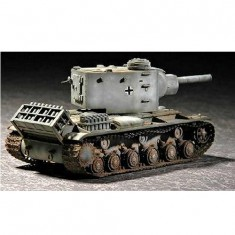 Maquette Char lourd allemand: Pz Kpfw KV-2 754 1942