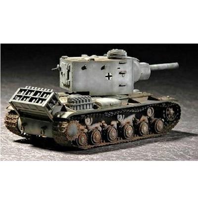 Maquette Char lourd allemand: Pz Kpfw KV-2 754 1942 - Trumpeter-TR07266