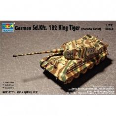Maquette Char lourd allemand Sd Kfz 182 KING TIGER: Tourelle Porsche