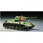 Maquette Char moyen soviétique T-34/76 Modèle 43