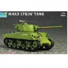 Maquette Char moyen US M4A3 76(W) Sherman
