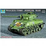 Maquette Char moyen US M4A3E8 Sherman (T-80 Tracks)