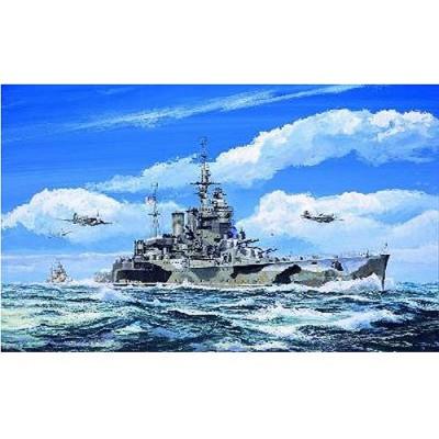 Maquette bateau: Croiseur britannique HMS Renown 1942 - Trumpeter-TR05764