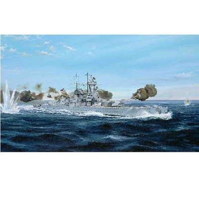Maquette bateau: Croiseur de bataille allemand amiral Graf Spee 1939 - Trumpeter-TR05774