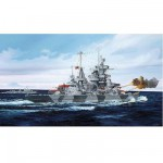 Maquette bateau: Croiseur de bataille allemand amiral Hipper 1941