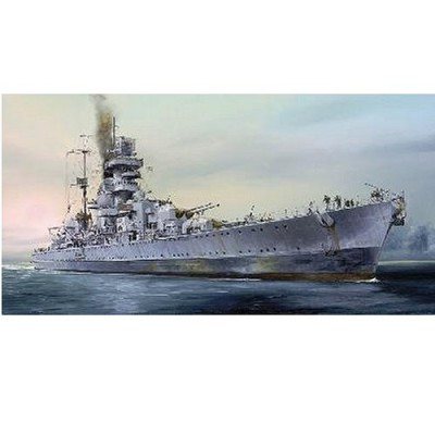 Maquette bateau: Croiseur de bataille allemand Prinz Eugen 1945 - Trumpeter-TR05767