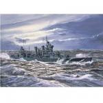 Maquette bateau: Croiseur lourd USS CA-32 New Orleans 1942