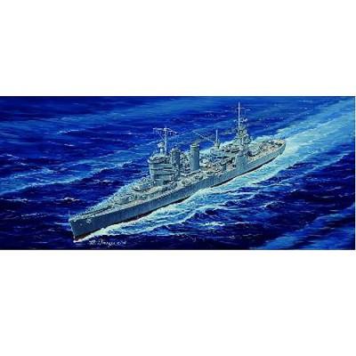 Maquette bateau: Croiseur lourd USS CA-34 Astoria 1942 - Trumpeter-TR05743
