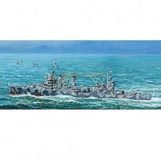 Maquette bateau: Croiseur lourd USS CA-37 Tuscaloosa 1944