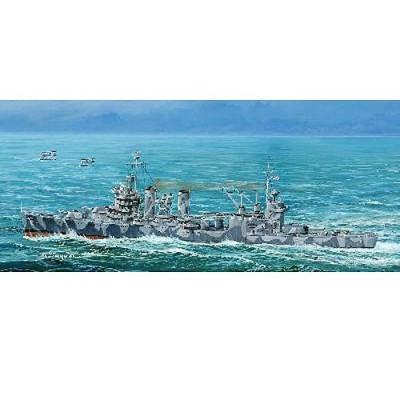 Maquette bateau: Croiseur lourd USS CA-37 Tuscaloosa 1944 - Trumpeter-TR05745