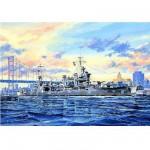 Maquette bateau: Croiseur lourd USS CA-39 Quincy 1942