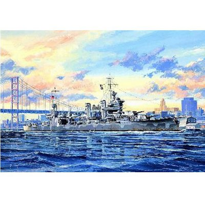 Maquette bateau: Croiseur lourd USS CA-39 Quincy 1942 - Trumpeter-TR05748