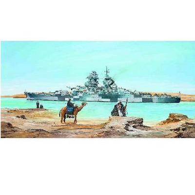 Maquette bateau: Cuirassé français Richelieu 1943 - Trumpeter-TR05311