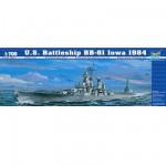 Maquette bateau: Cuirassé US BB-61 Iowa 1984