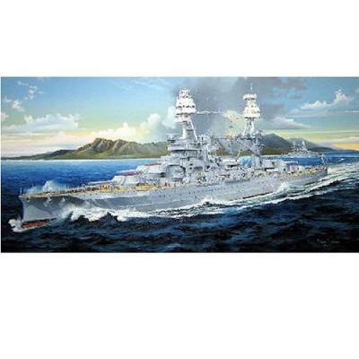 Maquette bateau: Cuirassé USS BB-39 Arizona 1941: Série limitée - Trumpeter-TR03701