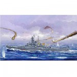 Maquette bateau: Cuirassé USS BB-57 South Dakota 1945