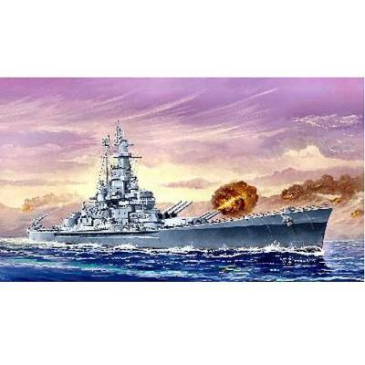 Maquette bateau: Cuirassé USS BB-59 Massachussetts 1945 - Trumpeter-TR05761