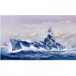 Maquette bateau: Cuirassé USS BB-60 Alabama 1944