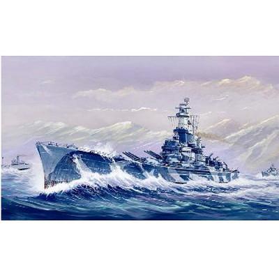 Maquette bateau: Cuirassé USS BB-60 Alabama 1944 - Trumpeter-TR05762