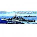 Maquette bateau: Cuirassé USS North Carolina BB-55