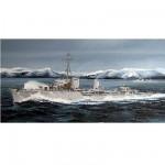 Maquette bateau: Destroyer allemand Zerstorer Z-25 1944