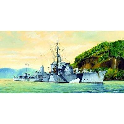 Maquette bateau: Destroyer allemand Zerstorer Z-30 1942 - Trumpeter-TR05322