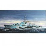 Maquette bateau : Destroyer canadien HMCS Huron classe Tribal (G24) 1944