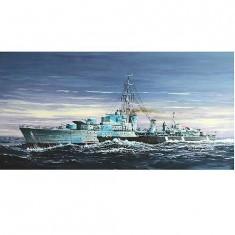 Maquette bateau: Destroyer canadien HMCS Huron classe Tribal (G24) 1944