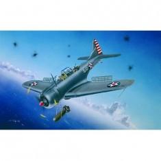 Maquette avion: Douglas SBD-3/4 - A-24A Dauntless 1941/1942