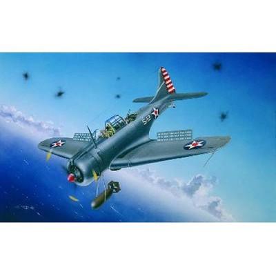 Maquette avion: Douglas SBD-3/4 - A-24A Dauntless 1941/1942 - Trumpeter-TR02242