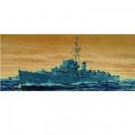 Maquette bateau: Escorteur USS DE-635 England 1943